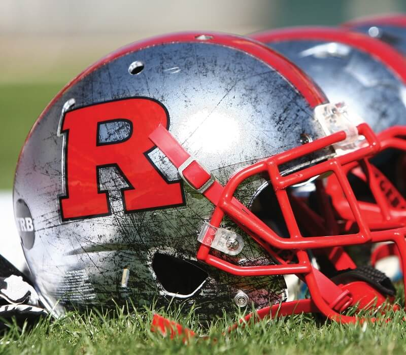 rutgers football helmet sports